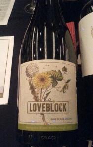 Loveblock Sauvignon Blanc 2013