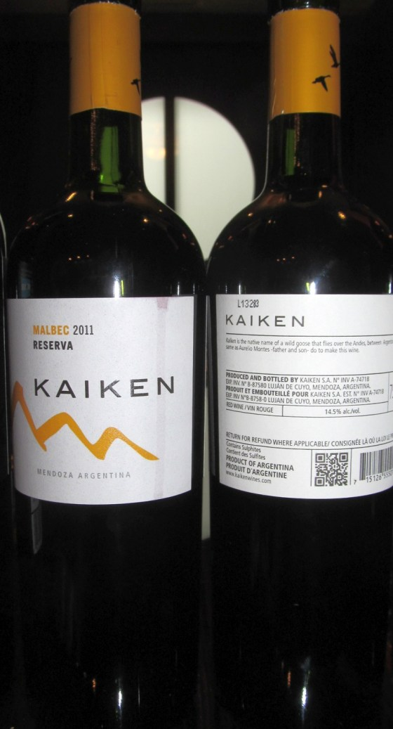 Kaiken Reserva Malbec 2011