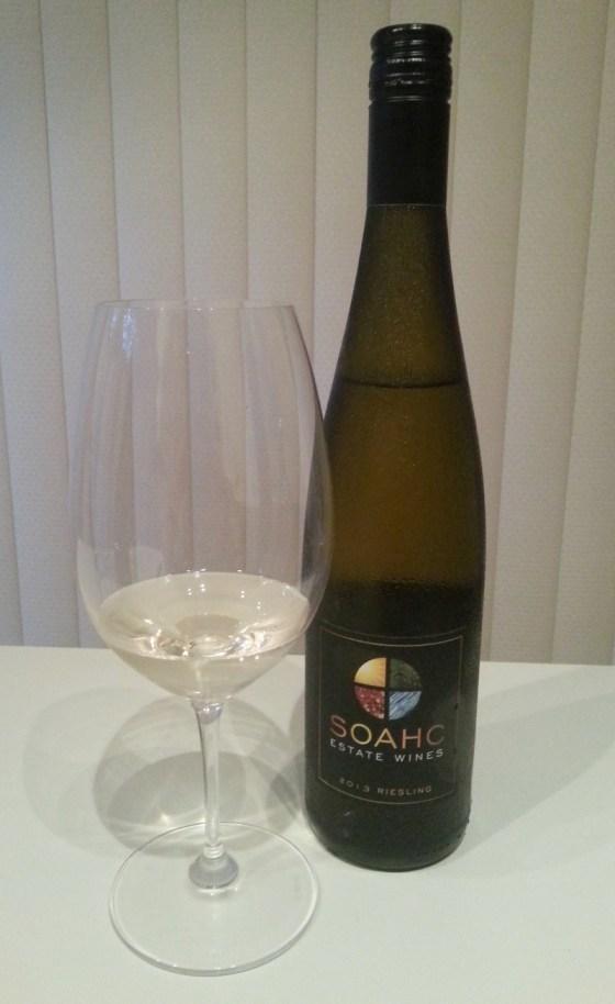 SOAHC Estate Wines Riesling 2013