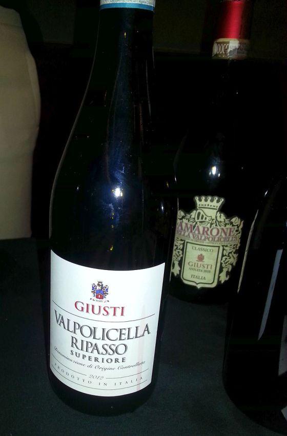 Giusti Valpolicella Ripasso and Amarone