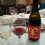 Haywire Lunar New Year Red with glasses at Sun Sui Wah
