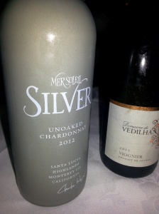 Mer Soleil Silver Chardonnay and Domaine de Vedilhan Viogner at Hart House