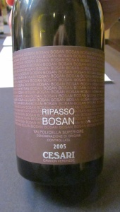 Cesari Bosan Ripasso 2005