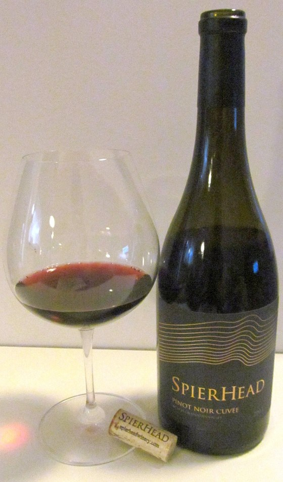 SpierHead Winery Pinot Noir Cuvee 2013