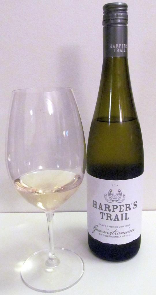 Harper's Trail Thadd Springs Vineyard Gewurztraminer 2013