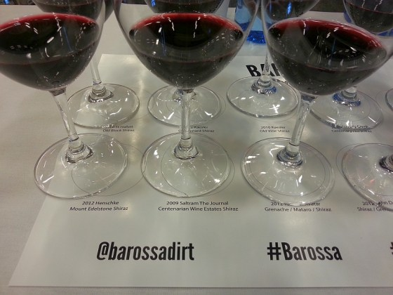 Tasting Barossa dirt in the shiraz glass