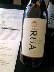 Akarua RUA Pinot Noir 2014