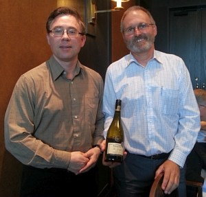 Karl MyWinePal with Grant Edmonds from Sileni Estates winery