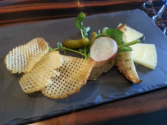 Manchego cheese at Tableau Bar Bistro