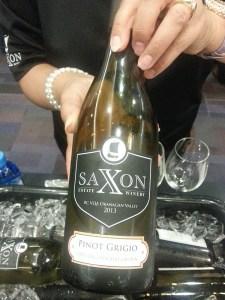 Saxon Estate Winery Pinot Grigio 2013