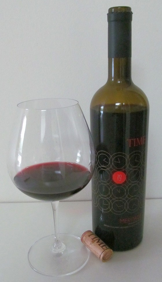 TIME Estate Winery Meritage 2012