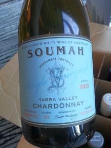 Soumah Chardonnay Single Vineyard 2013