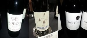 Adega on 45th Cabernet Franc, Daydreamer Jasper, and Gold Hill Winery Merlot