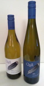 Blue Grouse Quill White Wine and Quill Riesling