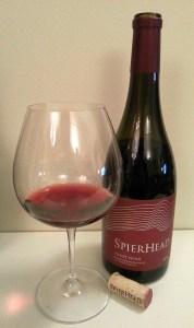 SpierHead GFV Saddle Block Pinot Noir 2014