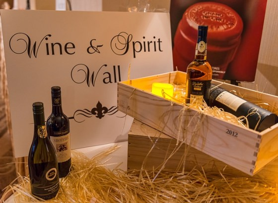 Kidney Foundation Wine & Spirit Wall 2015