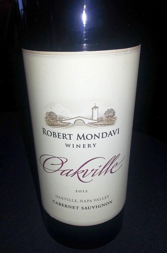 Robert Mondavi Oakville Cabernet Sauvignon 2012