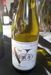 Famille Bougrier Vouvray V Chenin Blanc 2014