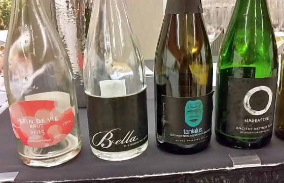 4 BC VQA sparkling wines