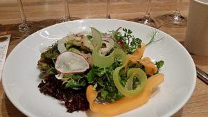 Mixed Greens salad at Boulevard Kitchen and Oyster Bar