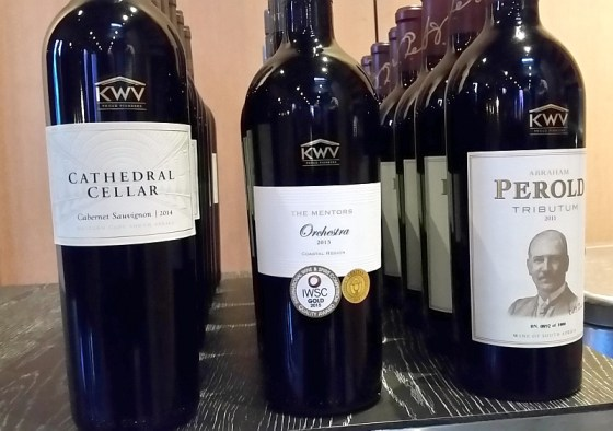 KWV Cathedral Cellar Cabernet Sauvignon, The Mentors Orchestra, and Abraham Perold Tributum