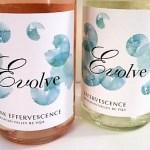 Evolve Effervescence and Pink Effervesence wines