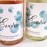 Evolve Effervescence and Pink Effervesence wines
