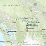 BC Pinot Noir map