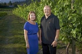 Oleg and Svetlana Aristarkhov from Moraine Estate Winery