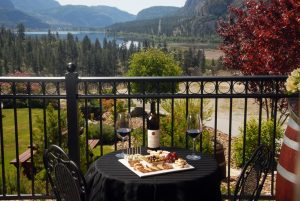 Noble Ridge Vineyard Winery view