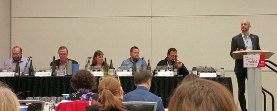 Tobias Busch, Harald Thiel, Ann Sperling, David Paterson, Pedro Parra, and Mark Shipway at VIWF (L to R)
