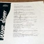 Tulalip Bay menu