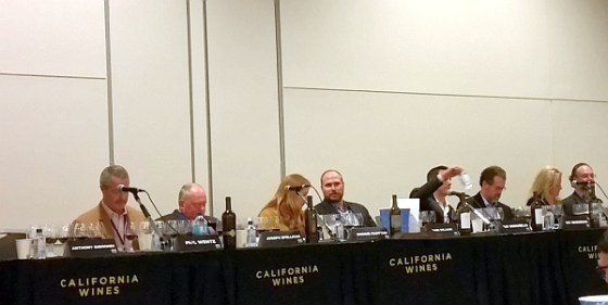 California Wines panel