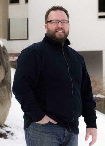 Lawrence Buhler wine maker at Evolve Cellars