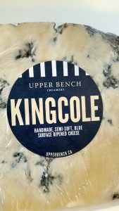 Upper Bench King Cole blue cheese