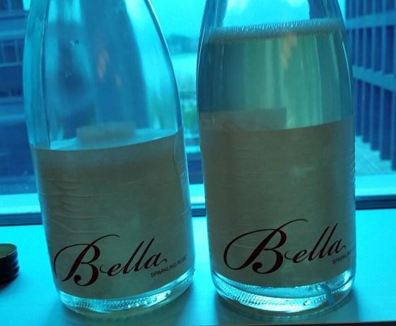 Bella Sparkling Rose wines