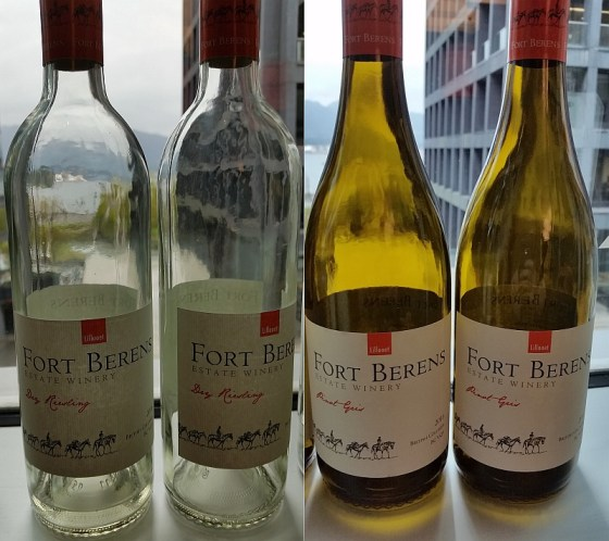 Fort Berens Dry Riesling and Pinot Gris 2016