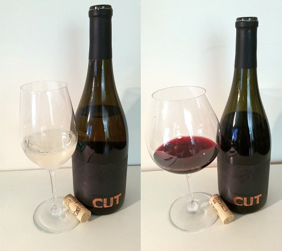 Lunessence Winemaker's Cut Sauvignon Blanc and Syrah in glass