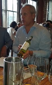 JC Bekker from Boschendal Winery talking about their wines
