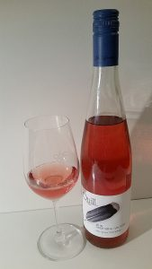 Blue Grouse Quill Rose 2016 and glass