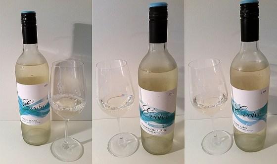 Evolve Cellars Pinot Blanc, Sauvignon Blanc, and Pinot Gris 2016