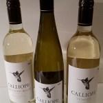 Calliope Sauvignon Blanc, Riesling, and Viognier