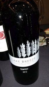 Lake Breeze Vineyards Tempest 2012