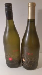 TIME Estate Winery Viognier 2016 and Chardonnay 2014