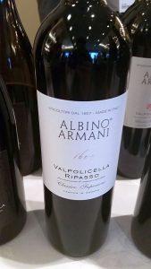 Albino Armani Valpolicella Ripasso Classico Superiore DOC 2015