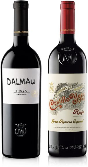 Marques de Murrieta Dalmau and Castillo Ygay wines