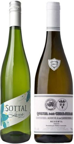 Sottal Leve and Quinta das Cerejeiras Branco Reserva wines