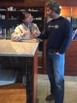 John Glavina and Jinny Lee, owners of Giant Head Estate Winery