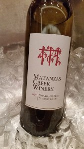 Matanzas Creek Winery Sauvignon Blanc 2015, California