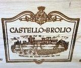Barone Ricasoli Castello di Brolio wooden case label